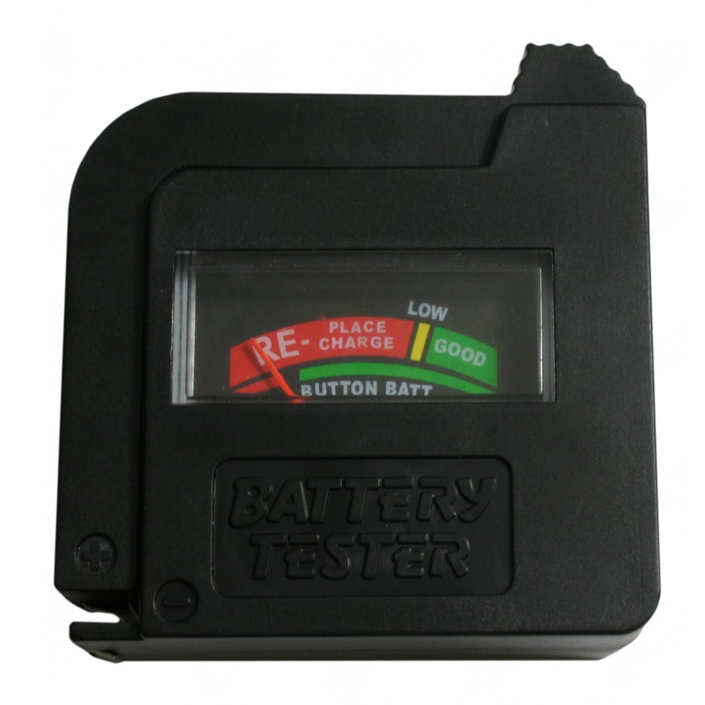 Probador de batería AA / AAA / C / D / 9V / 1.5V  - 1
