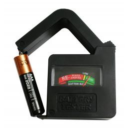 Probador de batería AA / AAA / C / D / 9V / 1.5V  - 2