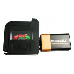 Probador de batería AA / AAA / C / D / 9V / 1.5V  - 3