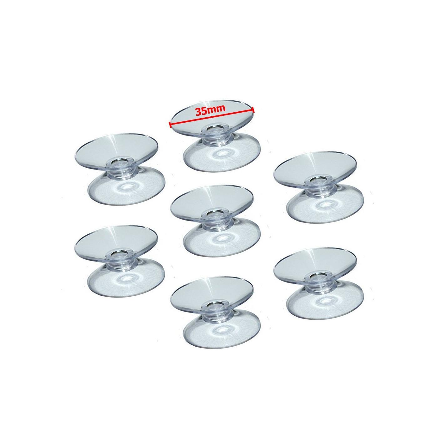 Set von 60 gummisauger doppelt (35 mm)