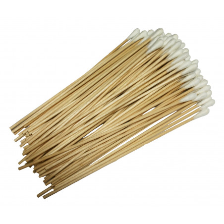 Set of 500 cotton swabs, extra long (15 cm)