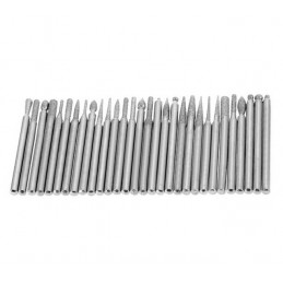 Set of 50 pcs micro (dremel) milling cutters/burrs  - 2