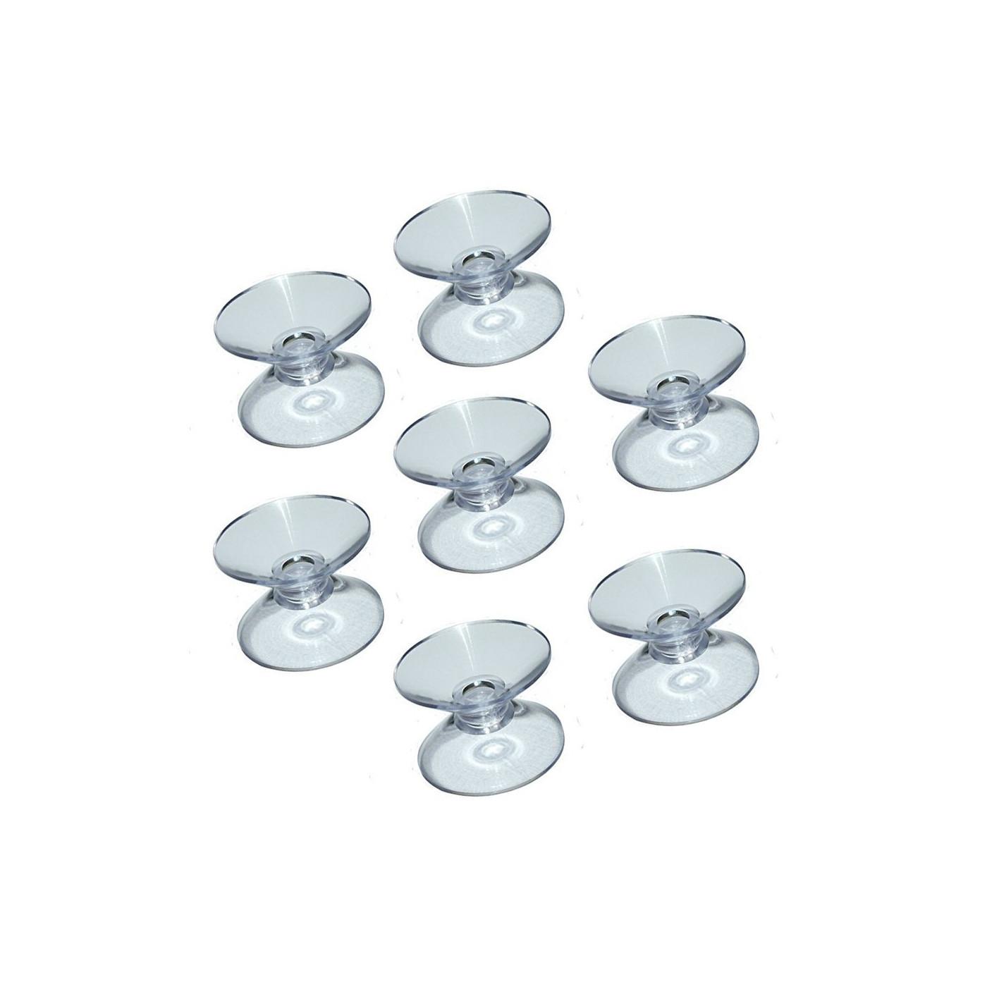 Set von 100 gummisauger doppelt (20 mm)