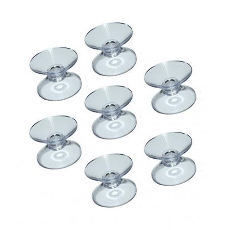 Ensemble de 100 ventouses en caoutchouc double (20 mm)