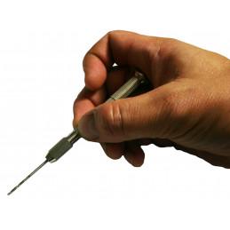Mini trapano a mano (10 punte incluse)