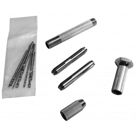 Mini hand drill (10 drill bits included)