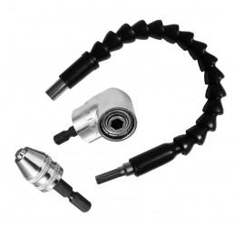Uitbreidingsset boor/schroef (hoek, lengte, adapter)  - 1