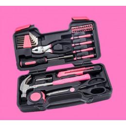 Zestaw narzędzi damskich w walizce (39 sztuk)  - 1