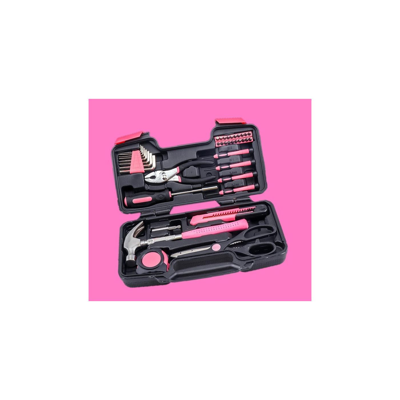 Kado voor vrouwen: set gereedschap voor dames  - 1