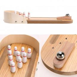 Mini jogo de boliche de mesa  - 1