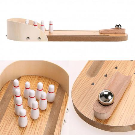 Jeu de mini bowling de bureau