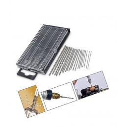 Zestaw 2 pudełek mikro wierteł HSS 0,3-1,6 mm  - 2