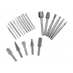 Set milling cutters & graters, 21 pieces  - 1