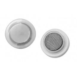 Conjunto de 32 imanes de pizarra blanca (3 cm, transparente)  - 1