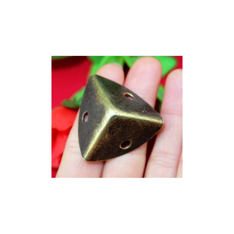 Mini antique corner protection, 25x25x25mm