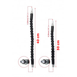 Prolunga flessibile a punte esagonali (30 + 40 cm)