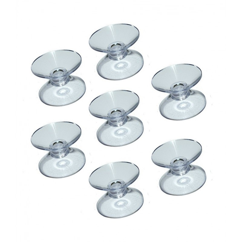 Rubber suction cup double (30mm)