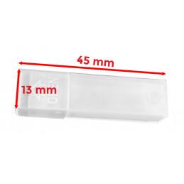 Set von 50 kleine kunststoff boxen (13x45 mm)  - 2