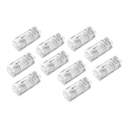 Set of 10 vials 10x10x29 mm, transparent