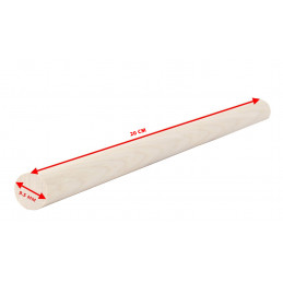 Set von 100 Holzstäbchen (20 cm Länge, 9,5 mm Durchmesser