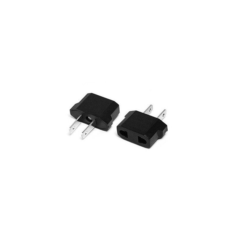 Set of 20 plug adapters (EUR to USA)