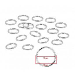 Key ring 16mm nickel plated