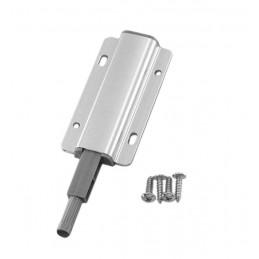 Conjunto de 12 cierres a presión para puertas de armarios (punta de goma)  - 1
