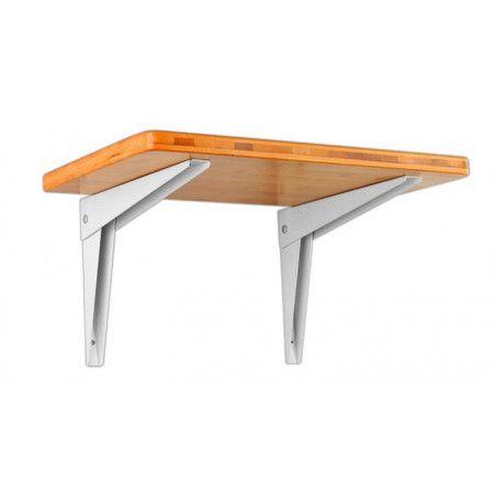 Set of 4 foldable shelf support brackets (size 2: 35 cm)  - 1