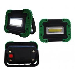 Kleine LED-Baulampe mit Batterien (8 Watt)