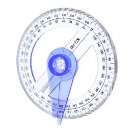 Ronde hoekmeter, gradenboog, geodriehoek