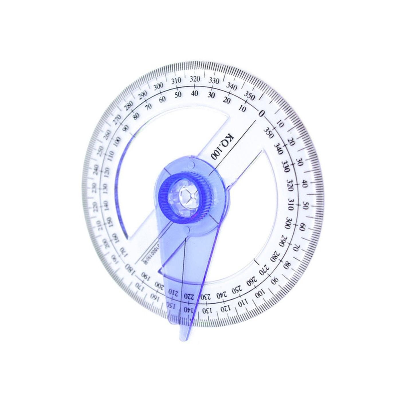 Protractor, round  - 1