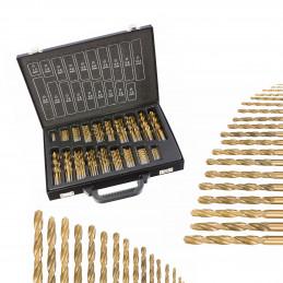 Zestaw 101 sztuk wierteł w walizce  - 1
