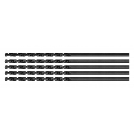 Set van 5 metaalboren (HSS, 4.2x200 mm)  - 1