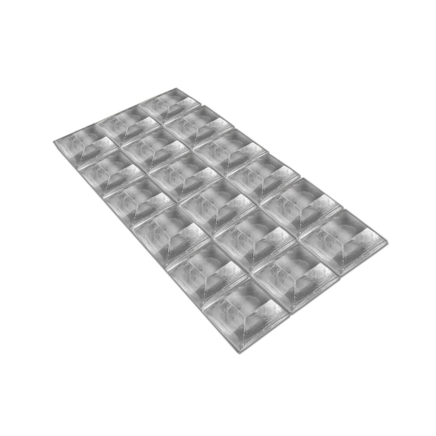 Set von 54 selbstklebenden Puffern (Typ 4, 20x20 mm)  - 1