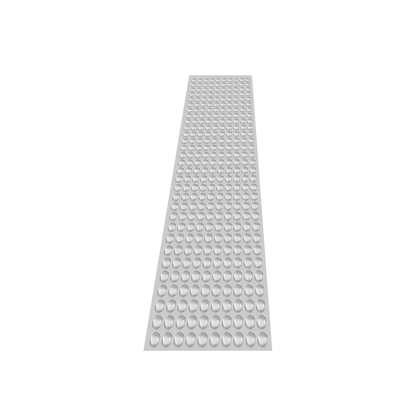 Set of 300 self adhesive buffers (type 3, 10.0x3.0 mm)  - 1
