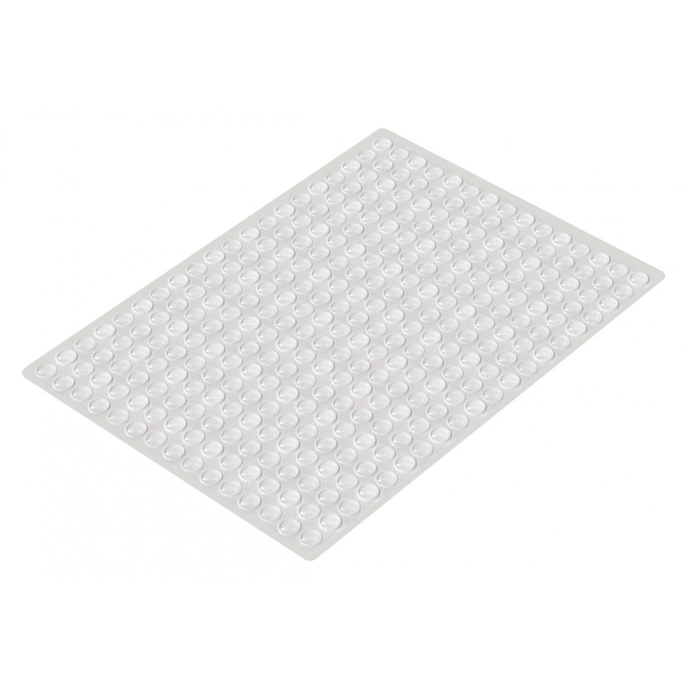 Set of 300 self adhesive buffers (type 1, 8.0x1.5 mm)