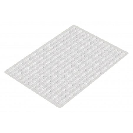 Lot de 300 tampons auto-adhésifs (type 1, 8,0x1,5 mm)