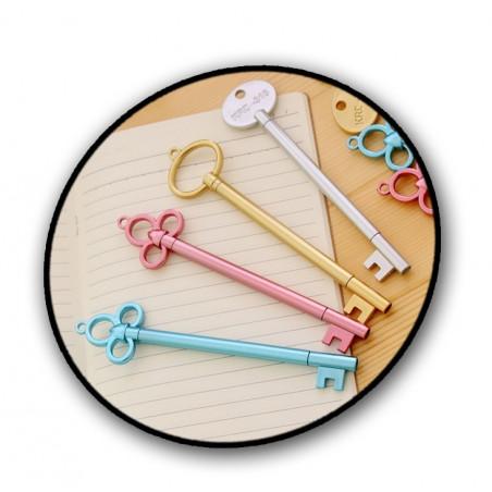 Set van 20 grappige pennen (die eruit zien als sleutels)