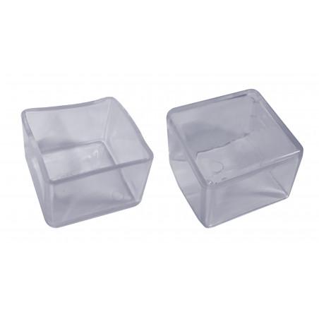 Set von 32 silikonkappen (Außenkappe, Quadrat, 38 mm