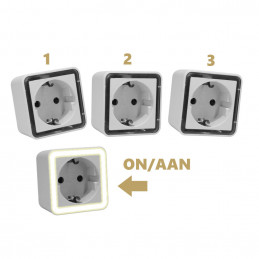 Set of 3 night lights with...