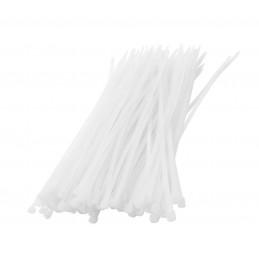Set van 300 tie wraps (kabelbinders) (wit)
