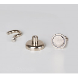 Magnetische haak / haakmagneet maat 3: 5,5 kg  - 2