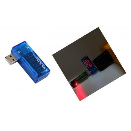 Misuratore di tensione e corrente USB