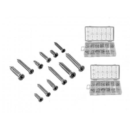 Set of 700 parker screws  - 1