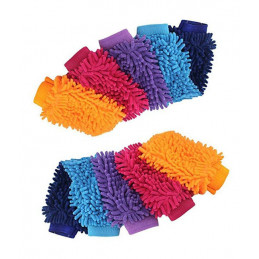 Set of 10 super cleaning gloves for washing car  - 1
