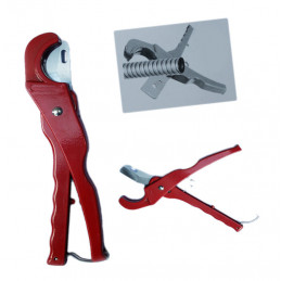 Pipe cutter, pipe shears for plastic pipes (6-32 mm)