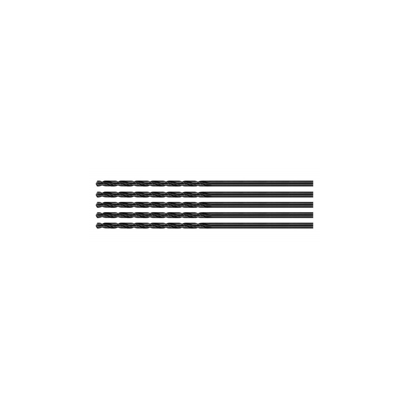 Set van 5 metaalboren (HSS, 4,5x75 mm)