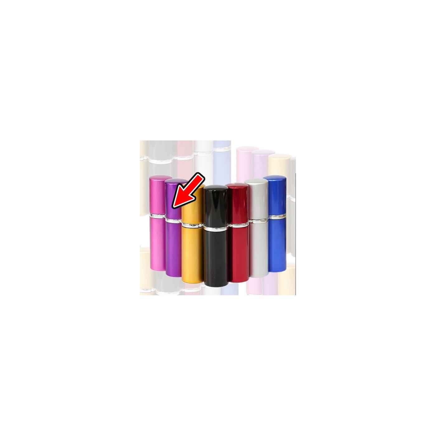 Lot de 5 atomiseurs (10 ml, violet)