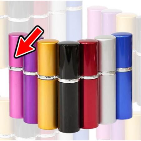 Set of 5 atomizers (10 ml, pink)