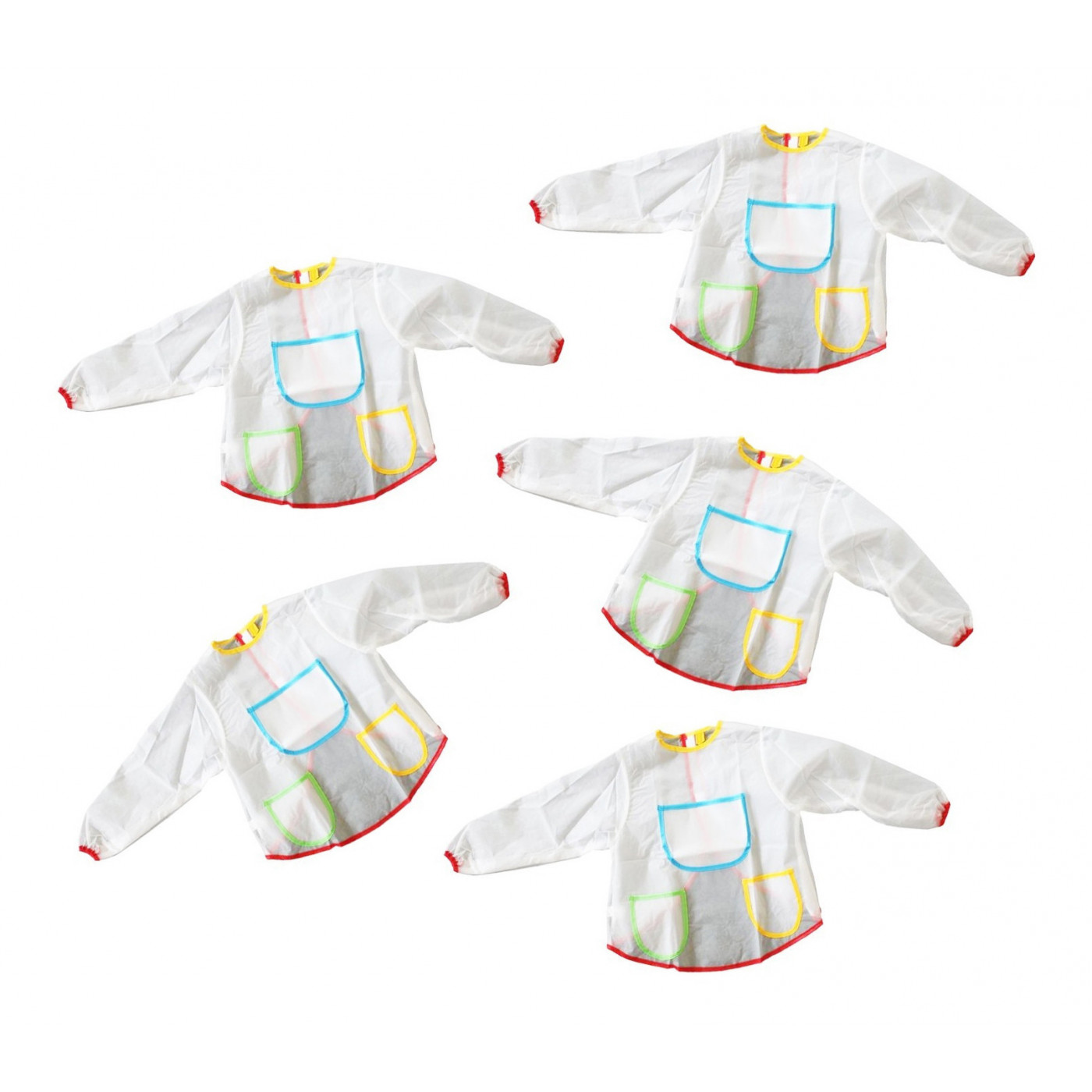 Set of 5 aprons for kids (suitable for ages 3-6 years)  - 1